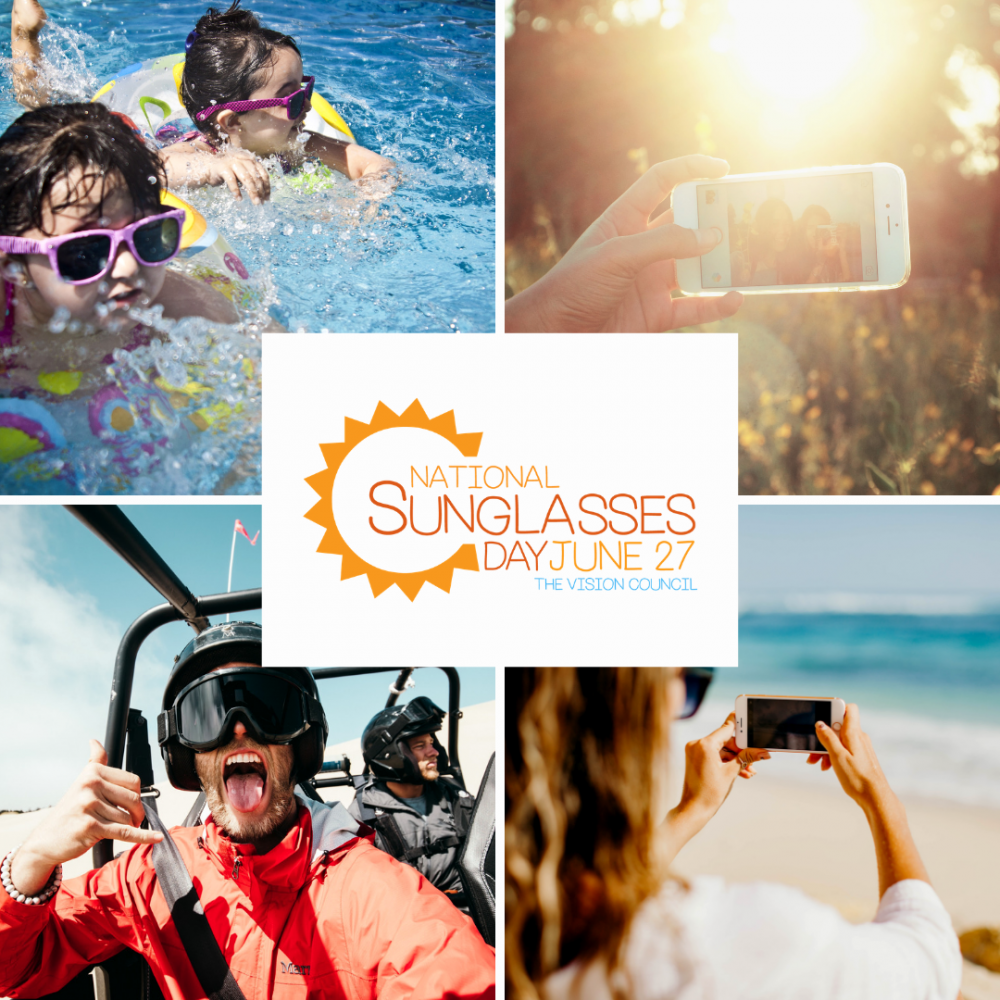 benefits of wearing your sunglasses national sunglasses day